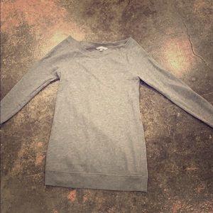 Victoria's Secret off shoulder long sweatshirt